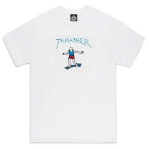 Camiseta Thrasher Gonz Old Timer White