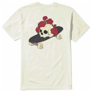 Camiseta Etnies Rose Roll Natural