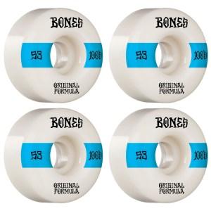 Ruedas Bones 53mm 100´S V4 100A