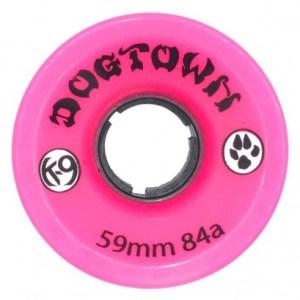 Ruedas Dogtown 59mm K9 Mini Cruisers 84A Neon Pink