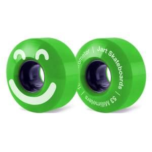 Ruedas Jart 53mm Be Happy Green 83A