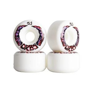 Ruedas Orbs 53mm Apparitions White 99A