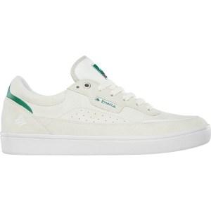 Zapatillas Emerica Gamma White/Green/Gum Suede