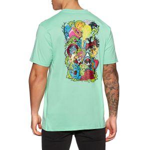 Camiseta Santa Cruz SW Logo Mash Jade