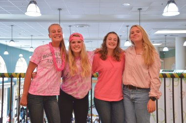 Juniors in pink for EMP day