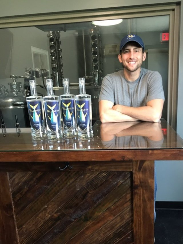 Jamison Trouth with Yellowfin Distillery