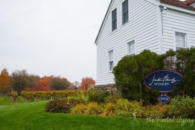 Jonathan Edwards Winery in North Stonington Connecticut