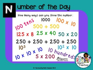 "Read about ""Number of the Day"" here!"