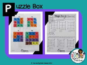 "Read about ""Puzzle Box"" here!"