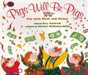Math Picture Books to Love: Pigs will be Pigs