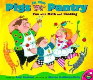 Transformation Tuesday: Math Picture Books to Love- Pigs in the Pantry