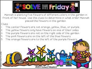Solve It! Friday- Task #63