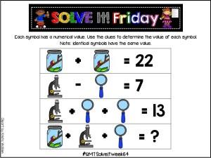 Solve It! Friday- Task #64