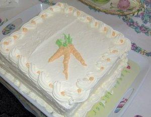 carrot cake for blog