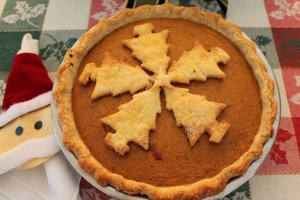 Hooray!!! Pumpkin pie for Christmas dinner!