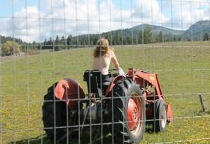 Um...tractoring?