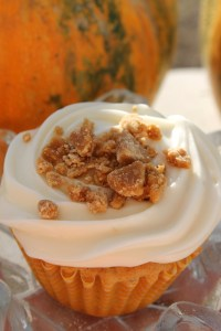maple nut cupcakes vertical