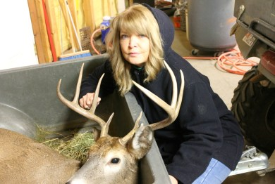 lori and deer 2014