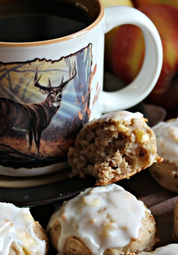 Butter Rum Apple Cookies - enjoy!