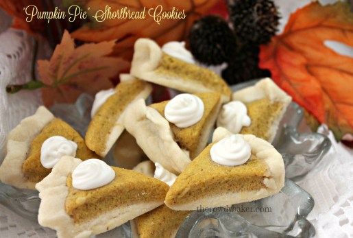 Pumpkin pie shortbread cookies horiz watermarked