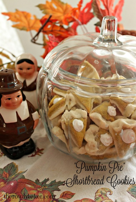 pumpkin pie shortbread cookies watermarked