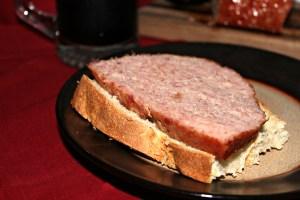 Game Day Glazed Football sandwich
