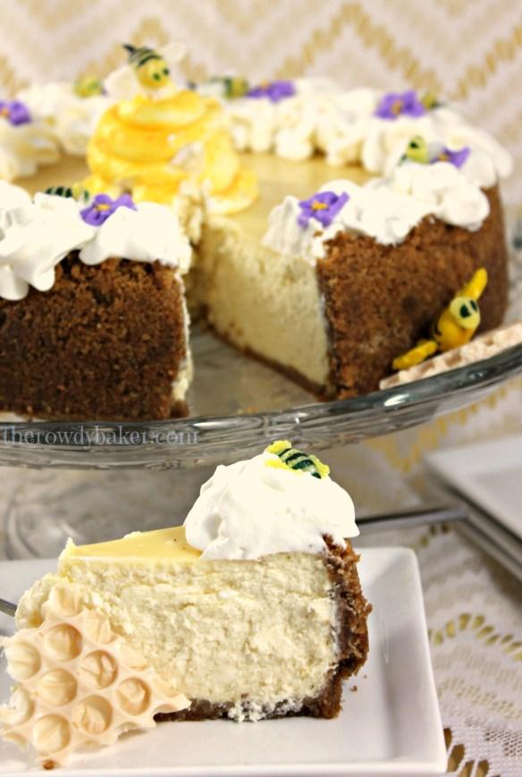 Honey Lemon Cake Sliced