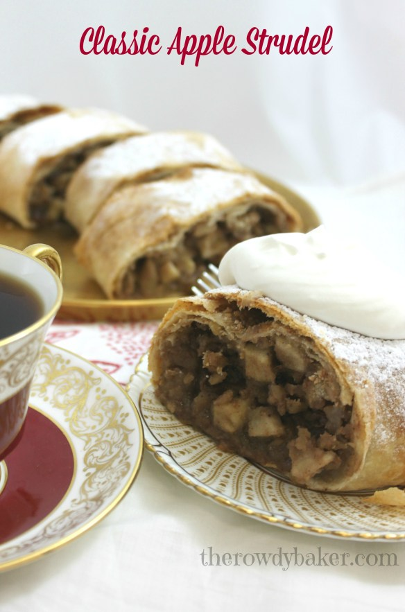 Classic Apple Strudel - The Rowdy Baker