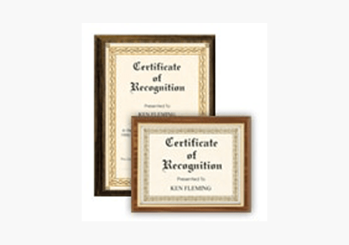 Certificate of Achievement-and Recognition TheRoyalStore