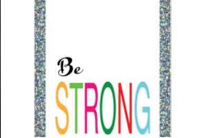 Be-Strong-Royal-Brights-Posterboard