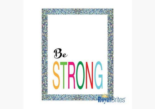 Holographic Poster Board Royal Brites