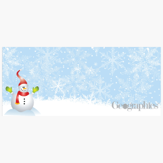 Snowman-Christmas-Envelopes-No-10-Geographics-2-47911W