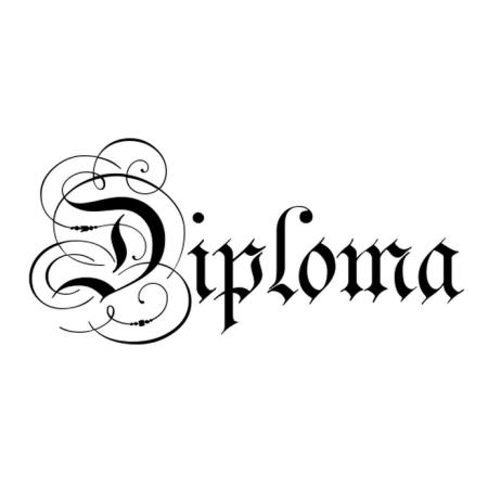 Free Diploma Word Art