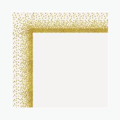 Ultra Brite Confetti Gold Poster Board L