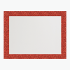 Ultra Brite Red Glitter Glam Frame Poster Boar L