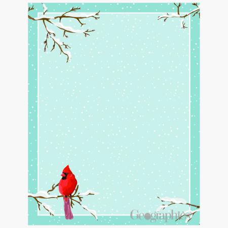 Cardinal Letterhead Geographics 49244