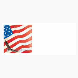 "Flag Envelopes No.10 (4.12""x9.5"") Print on Demand"