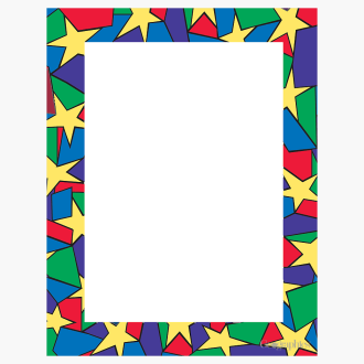 "Stars Letterhead, 8.5""x11"" Print on Demand"