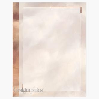 "Copper Letterhead, 8.5""x11"" Print on Demand"