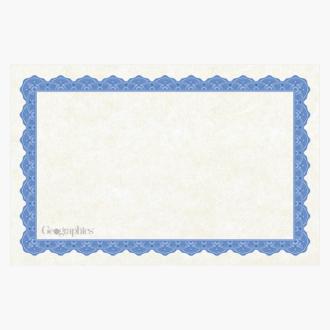 """Copen Blue Certificates, 8.5""""x5.5"""""""