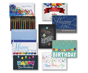 Birthday Greeting Cards Assorted Theroyalstore