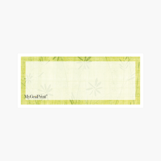 Daisies-Green-with-Window-MyGeoPrint-Envelope