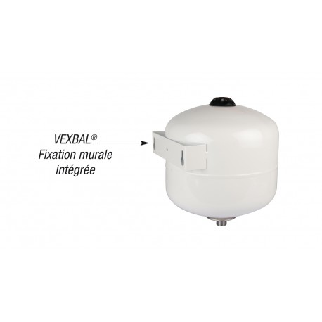 vase d expansion sanitaire vexbal support mural integre