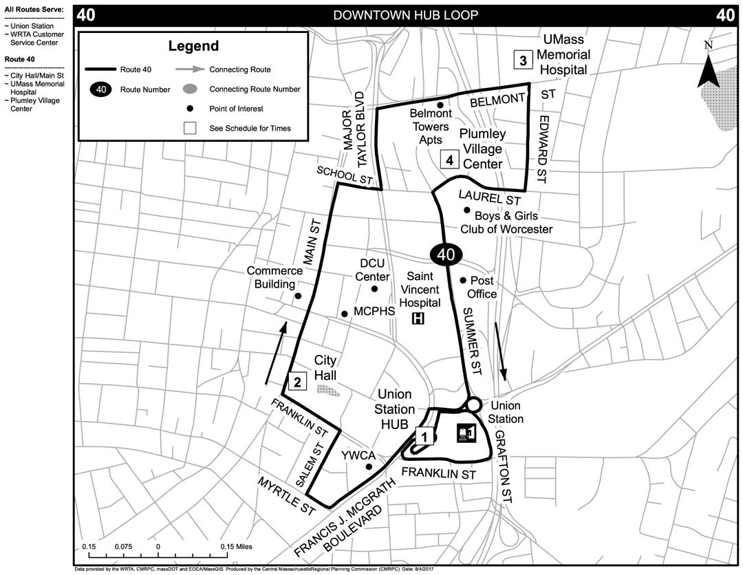 Fixed Route Service Maps And Service Overview