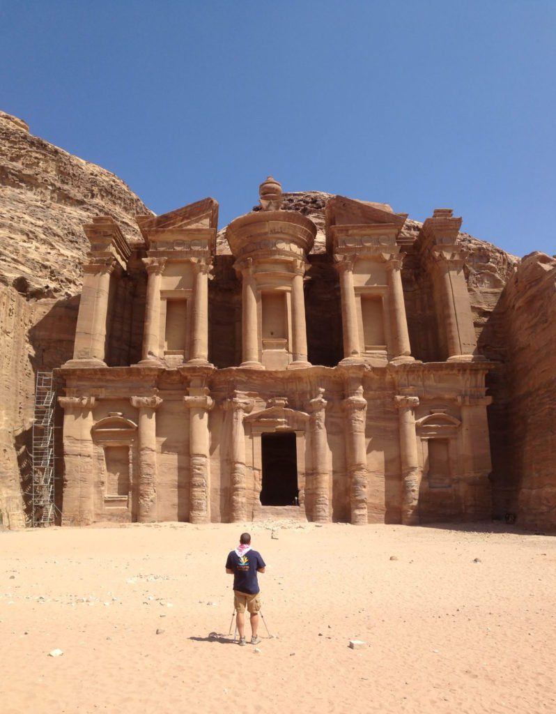 We made it to the very end of Petra!