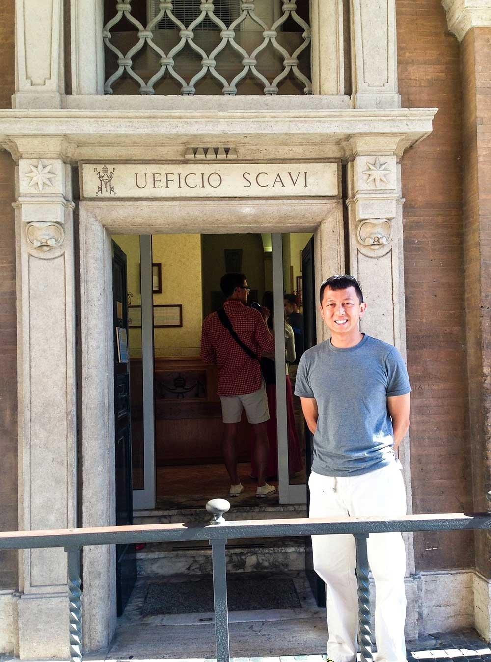 vatican city tours - Scavi tour
