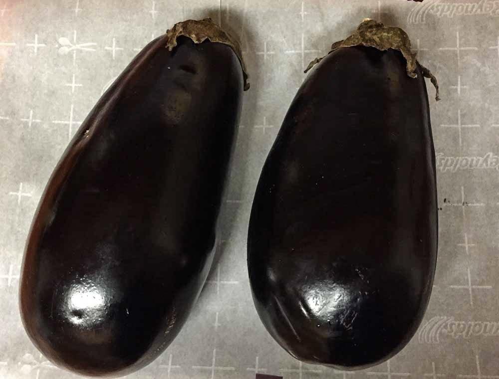 how to make mirza ghasemi - Ingredients - eggplant