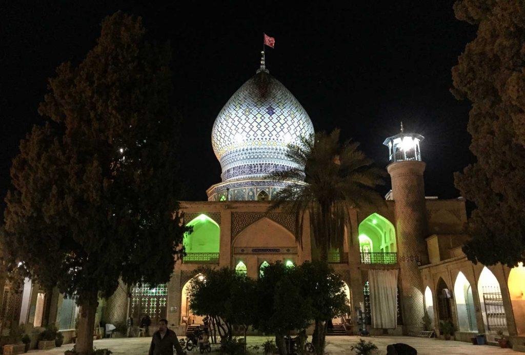 Aliebue hamze mosque in Shiraz, Iran