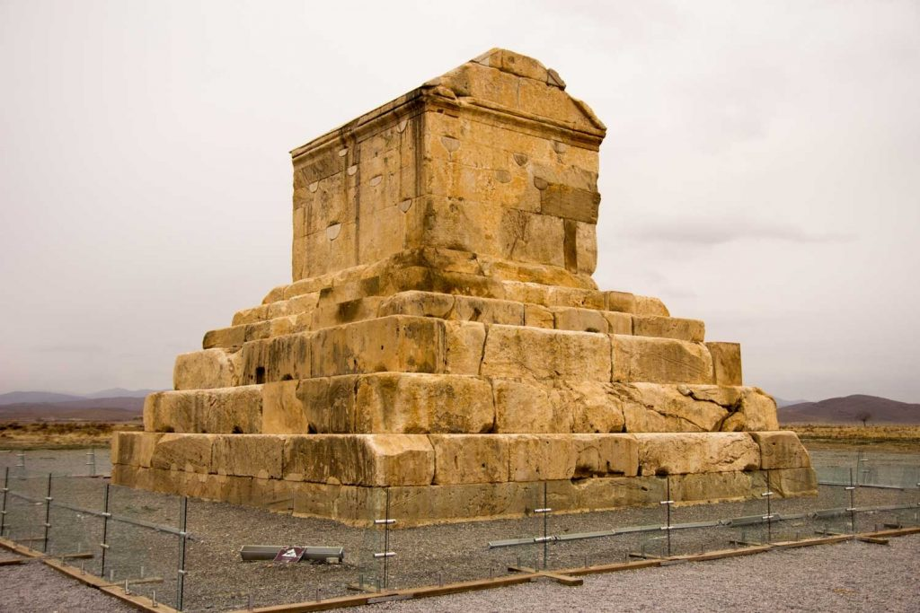 Guided Iran tour - Cyrus's tomb