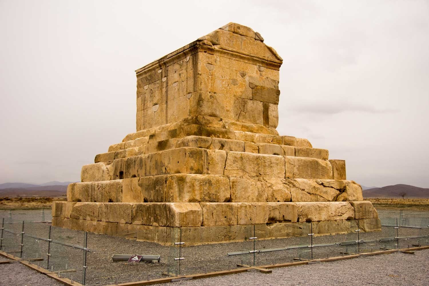 Things to see in Shiraz - Tomb of Cyrus the Great